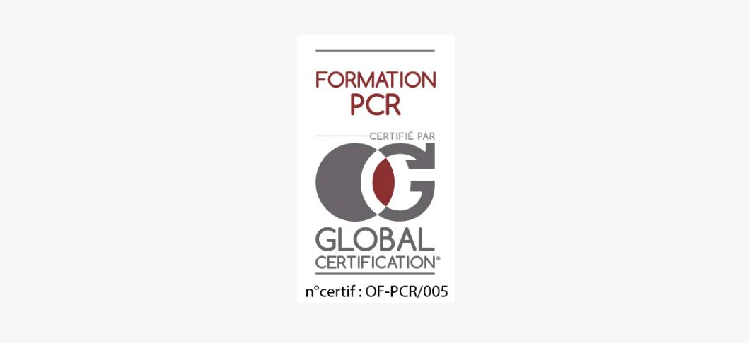 Certification  » Formation PCR »